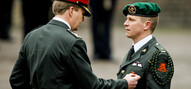 Ceremonie uitreiking Militaire Willems-Orde