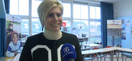 Prinses Laurentien geeft gastles