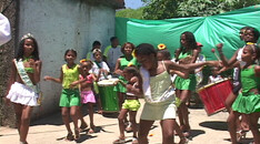 Kindercarnaval in Brazilie