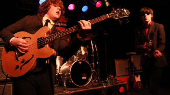 Afbeelding van The Strypes in The Cathedral op Eurosonic 16 januari 2014