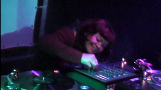 Afbeelding van Lady Aïda - Lady Aida at Rebelbass Mezz 4-7-2003