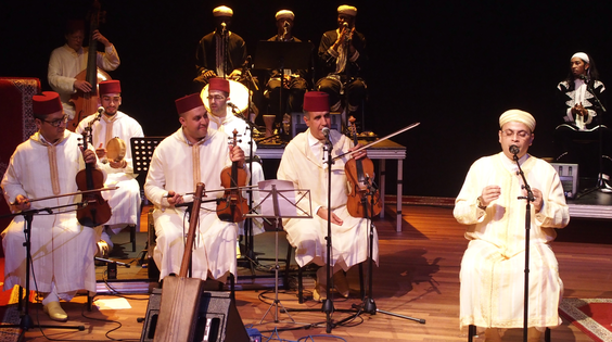 Afbeelding van Amsterdams Andalusisch Orkest & Gnawa Oulad Sidi Ensemble
