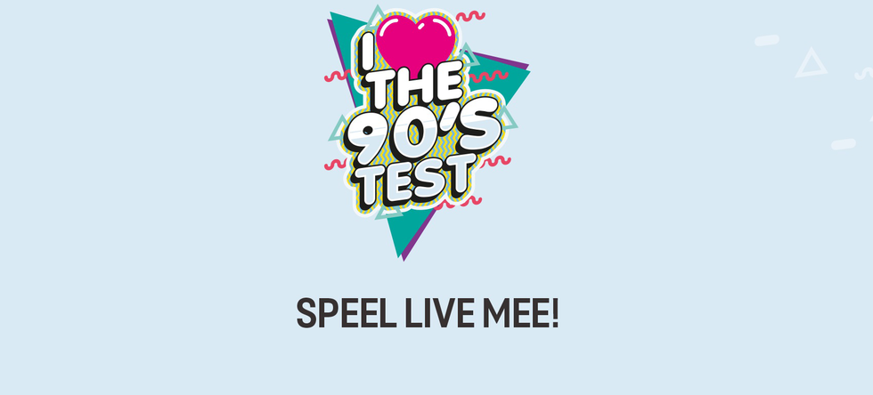 Afbeelding van I Love The 90's Test