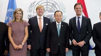 Koningspaar bezoekt jaarvergadering Verenigde Naties