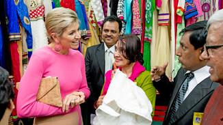 Koningin Máxima bezoekt Bangladesh