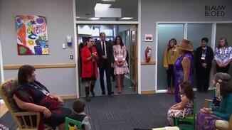 Catherine en William bezoeken instelling voor verslaafde vrouwen