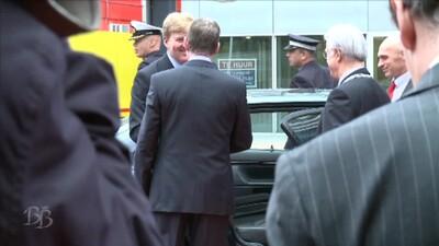 Koning Willem-Alexander opent Nationaal Archief