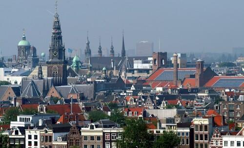 De kerk in de grote stad