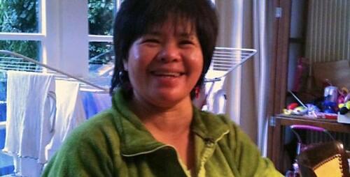 Lorie Matulay zet zich in voor illegalen in Nederland