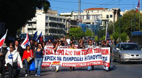 Griekse kerken in de crisis