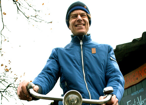 De motorcrossers, de fietsenmaker en de schermster