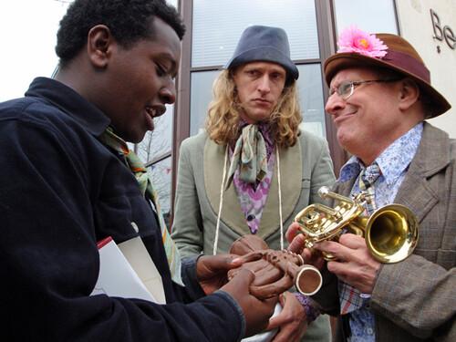 Het lekkere trompetje