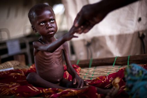 Humanitaire ramp in Soedan