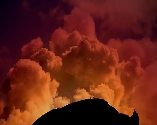 De week van de vulkaanuitbarsting