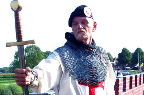 Jezus van Nijkerk, de ridder en het stoomgemaal