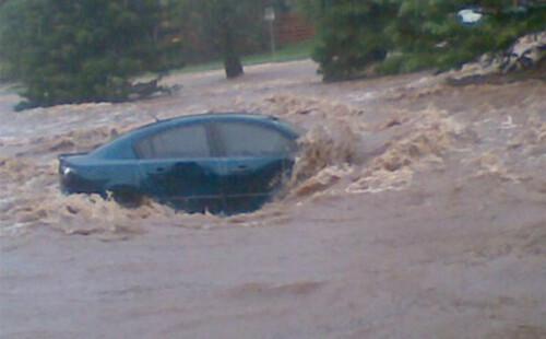 Australië getroffen door watersnood