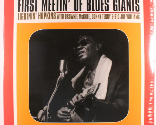 Lightnin' Hopkins 7 the Blues Summit & teksten van monniken