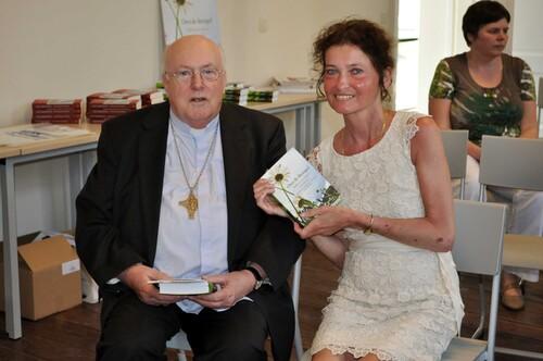 Iny Driessen & Kardinaal Godfried Danneels & Gebed