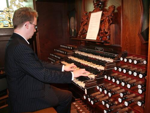De Populaire orgelbespeling van zaterdag 14 juli