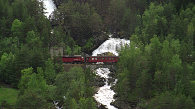 Afbeelding van aflevering: Noorwegen: Dovre en Raumabana: Trondheim-Rauma