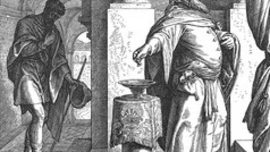 Afbeelding van aflevering: De farizeeër en de tollenaar