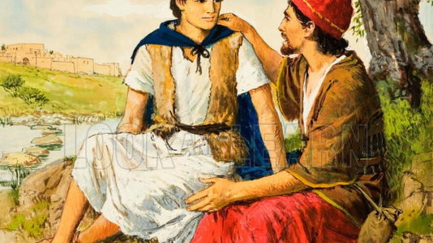 Afbeelding van aflevering: David en Jonathan