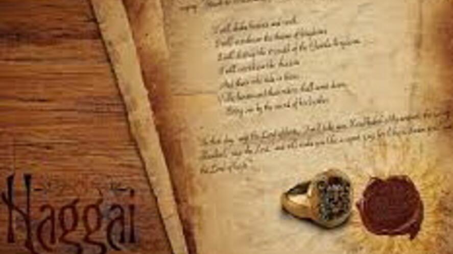 Afbeelding van aflevering: Wie was de profeet Haggaï?