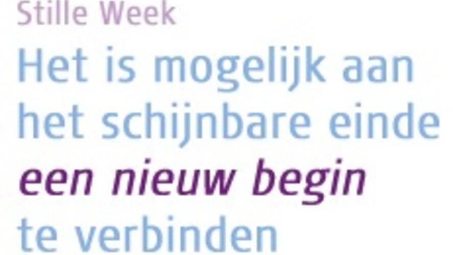 Afbeelding van aflevering: De stille week van dag tot dag
