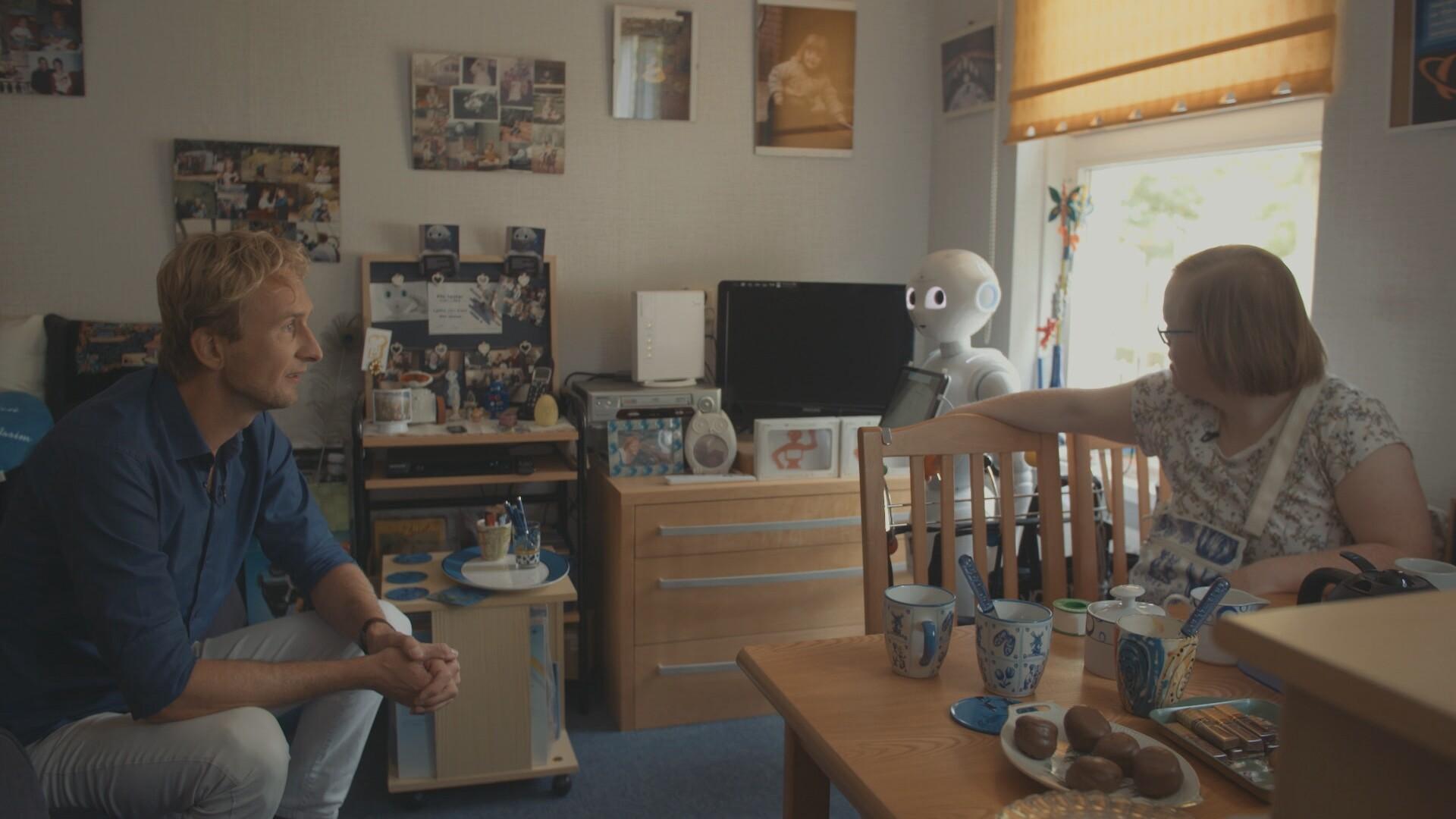 Geheimen delen met een robot