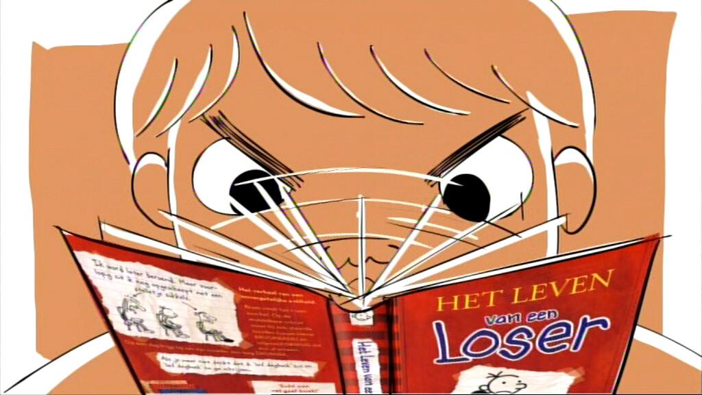 Schooltv Het Leven Van Een Loser Een Boek Van Jeff Kinney