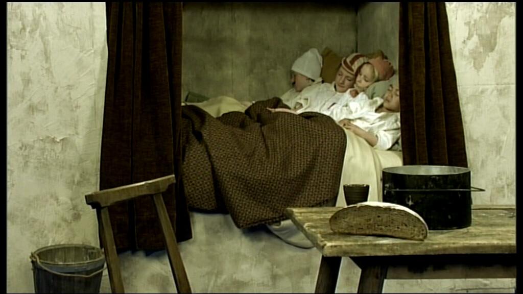 Schooltv de geschiedenis van het slapen van de for Baby op zij slapen kussen