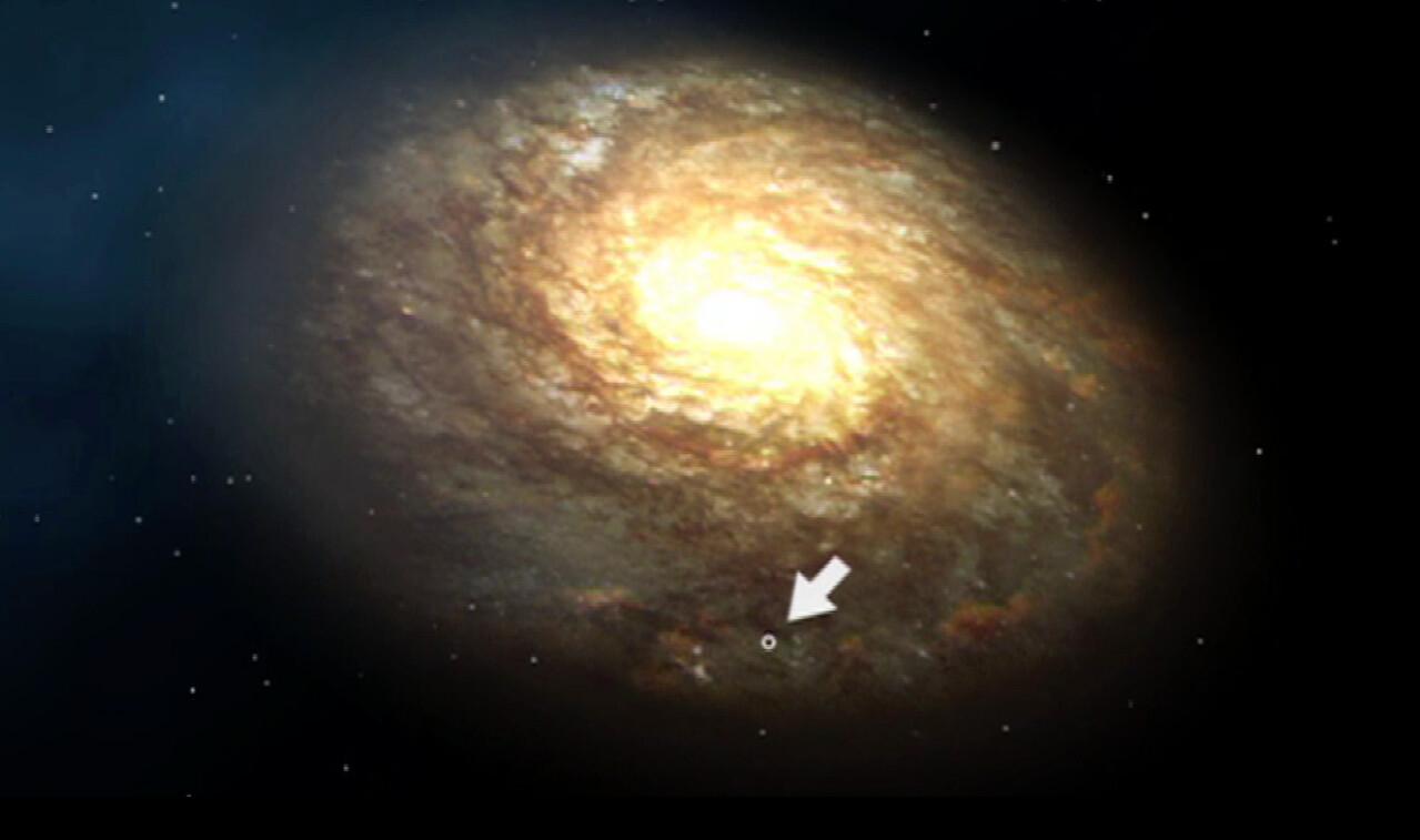Schooltv wat is het melkwegstelsel onze woonplaats in het heelal - Hoe het sieren ...