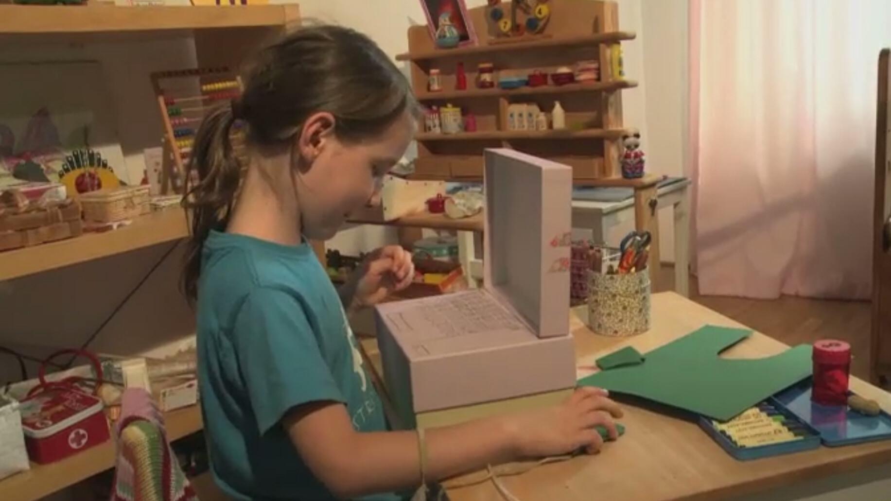Schooltv een computer maken knutselen met karton for Plattegrond maken op de computer