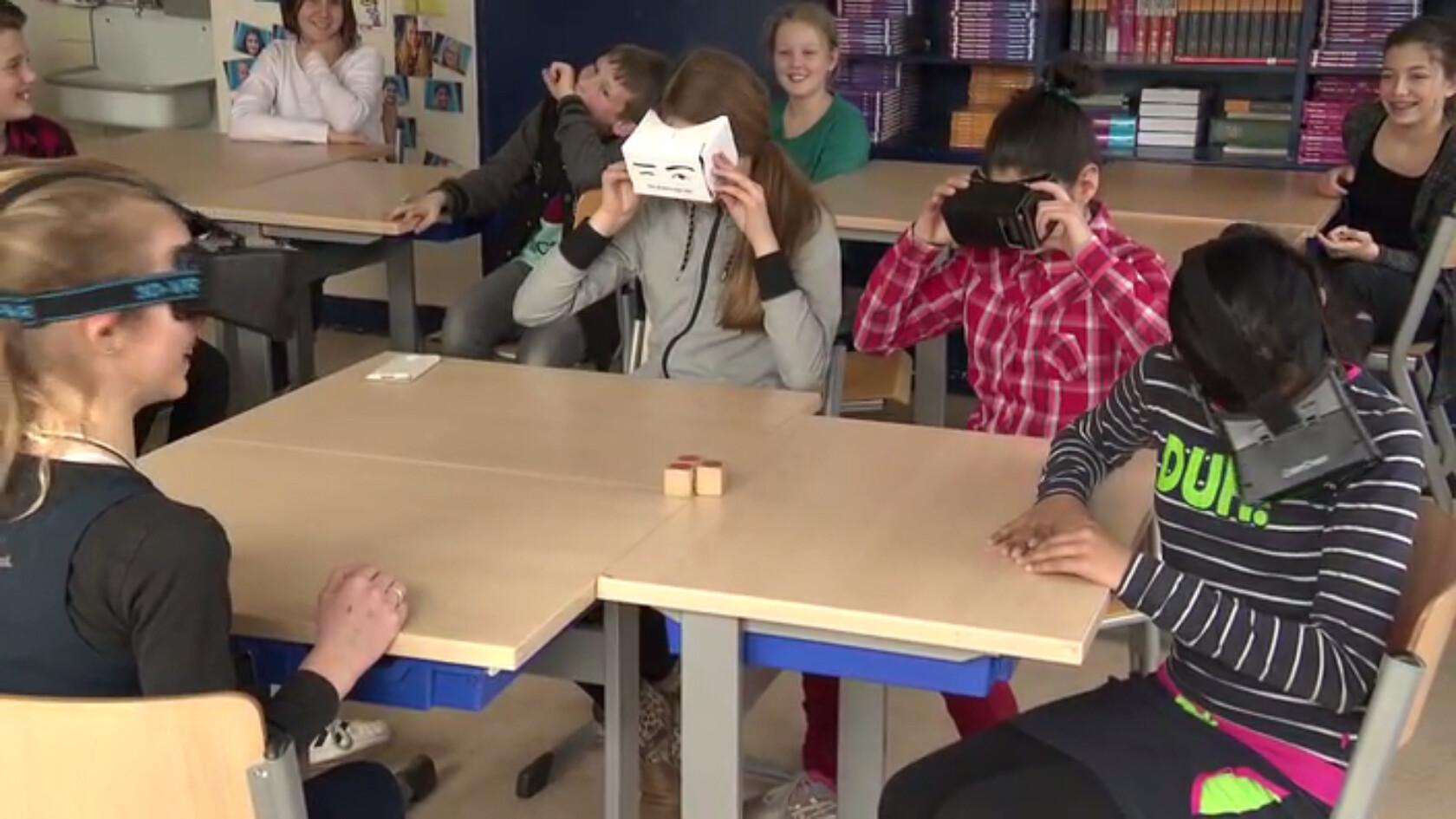 Virtual Reality in de klas - Leren met een 3D-bril