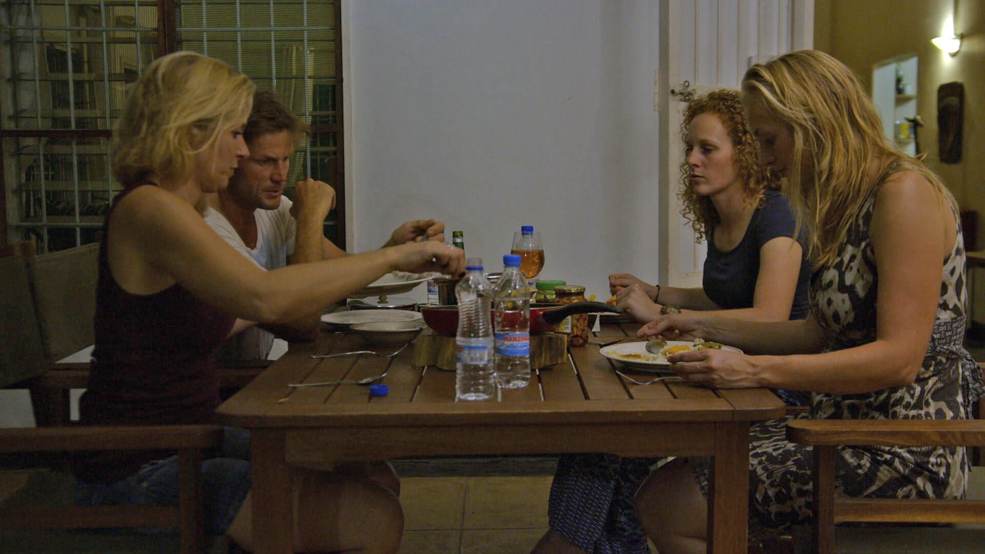 Extra: avondeten bij boer Marc