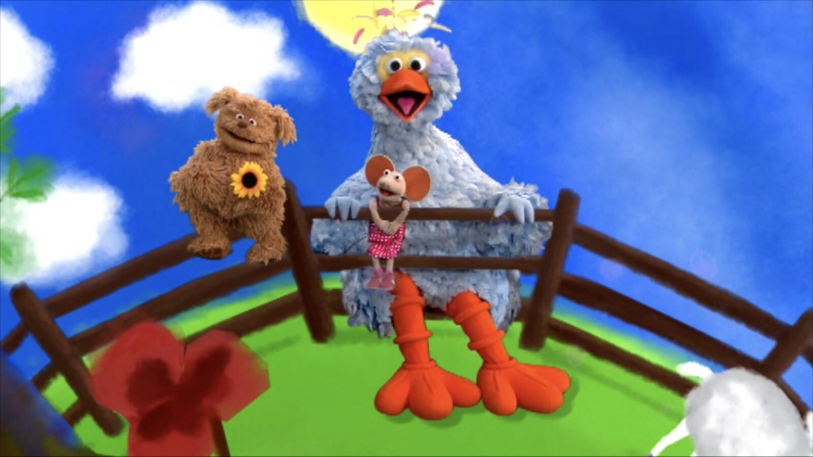 Iets Nieuws Schooltv: Drie kleine kleutertjes - Liedje uit Sesamstraat &EI73