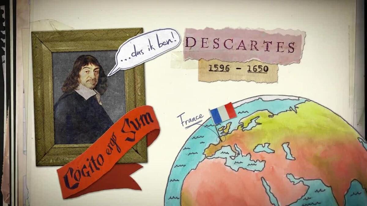 Ik Denk Dus Ik Ben René Descartes 1596 1650 Human
