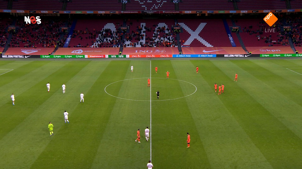 Nos Wk-kwalificatie Voetbal - Nos Wk-kwalificatie Voetbal Gibraltar - Nederland Wedstrijdanalyse