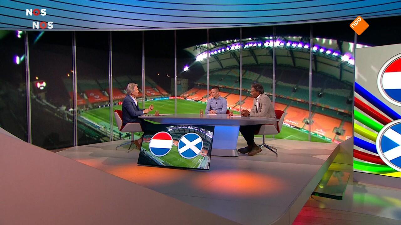 Nos Voetbal - Nos Voetbal Nederland - Georgië Tweede Helft