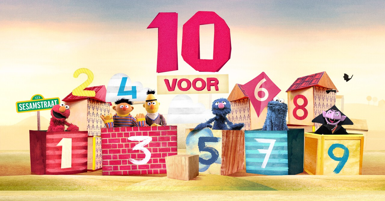 Sesamstraat: 10 Voor... - Supergezonde Monsters