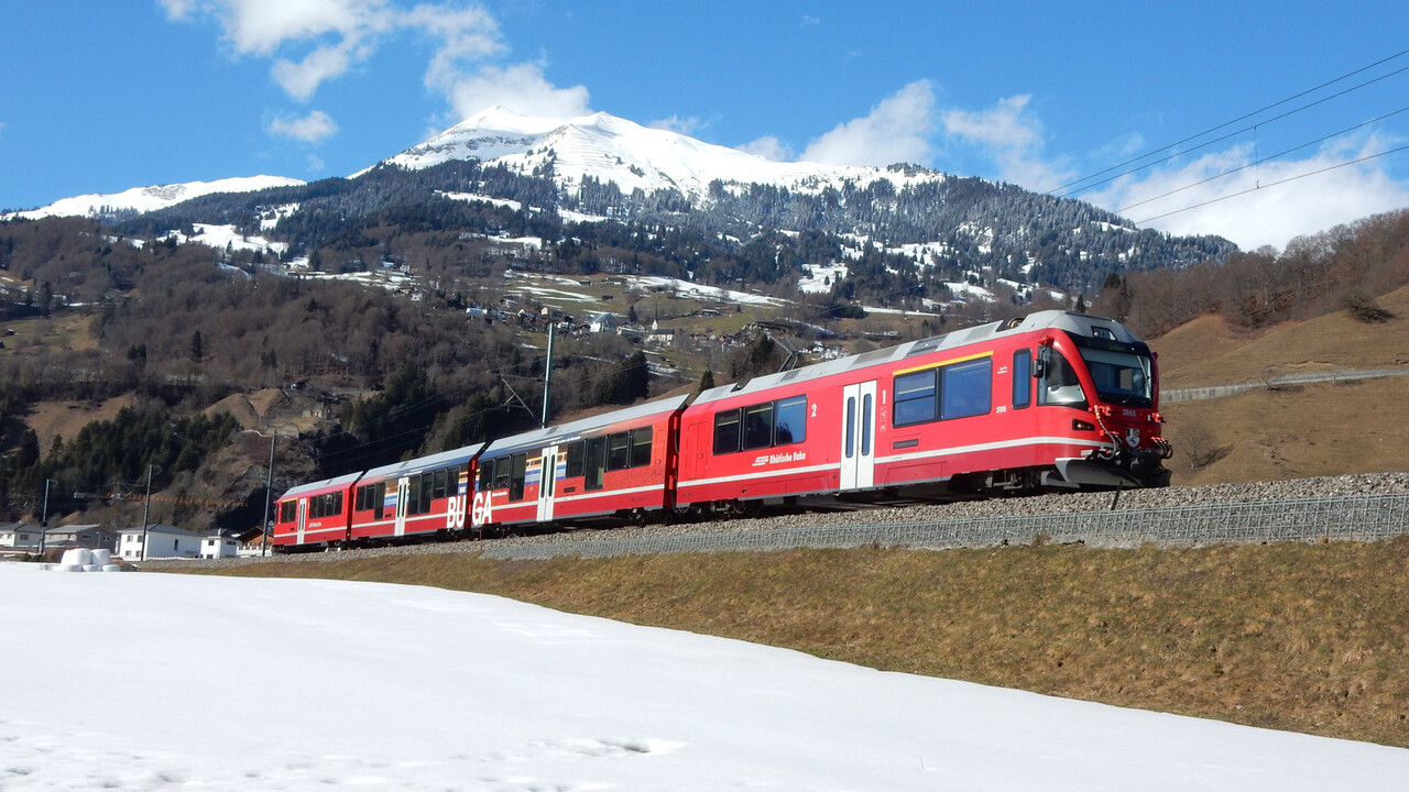 Rail Away - Bernina Express: Pontresina-tirano