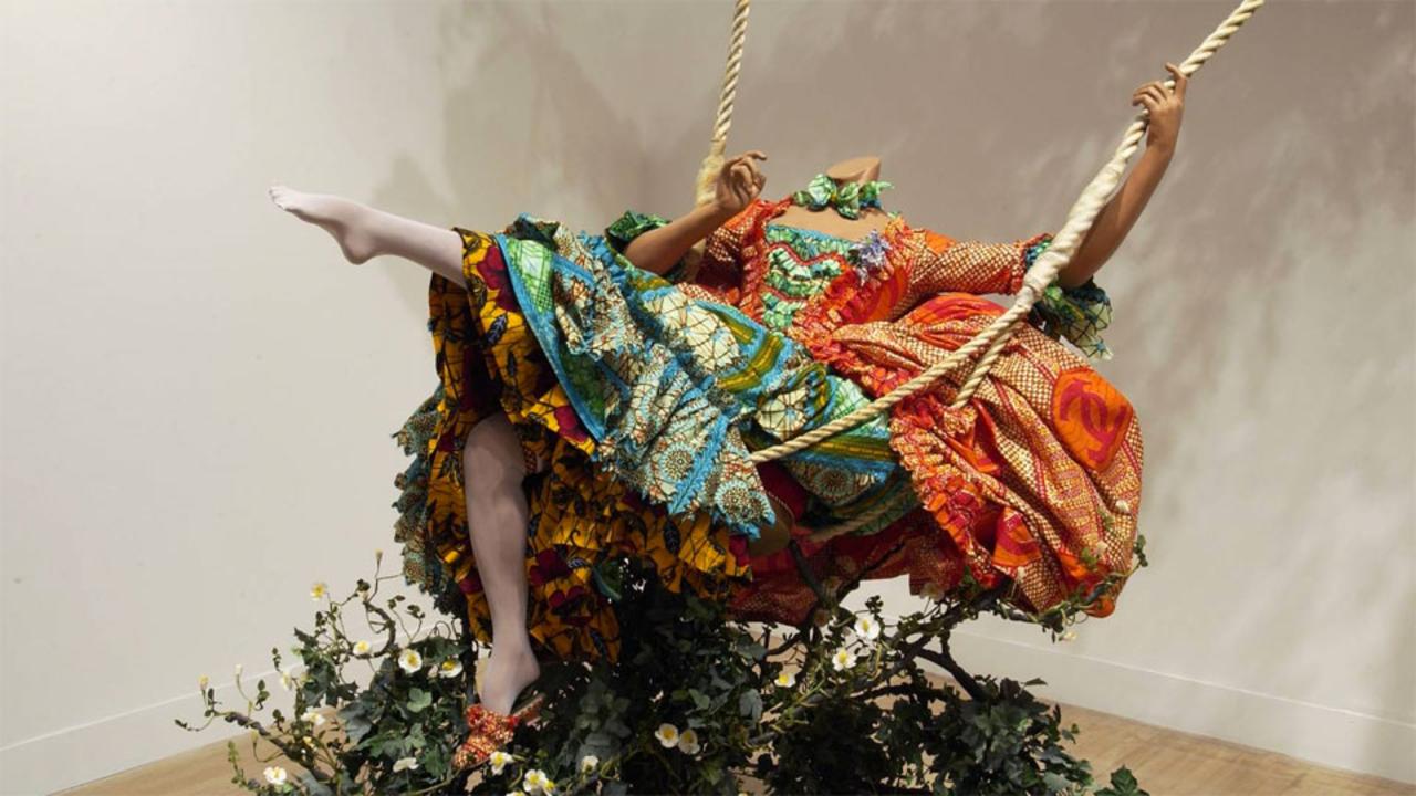 Kunstuur - Yinka Shonibare