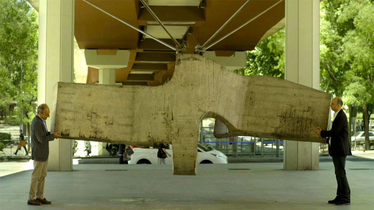 Close Up - Beeldhouwer Eduardo Chillida