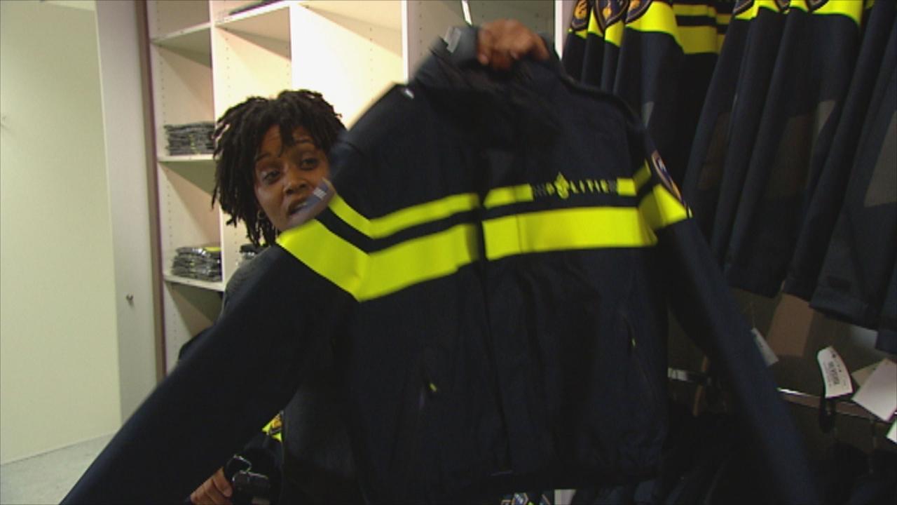Het Klokhuis - Politie-uniform