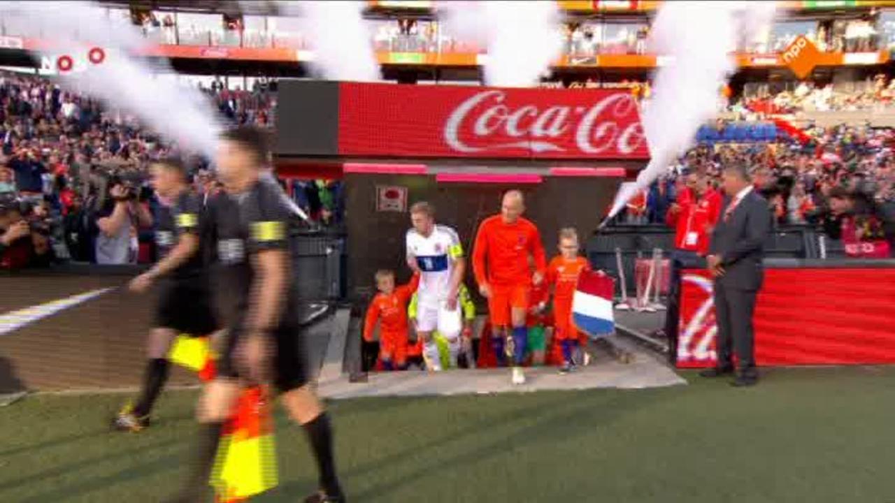 Nos Wk-kwalificatie Voetbal - Nos Wk-kwalificatie Voetbal Nederland - Luxemburg 1ste Helft