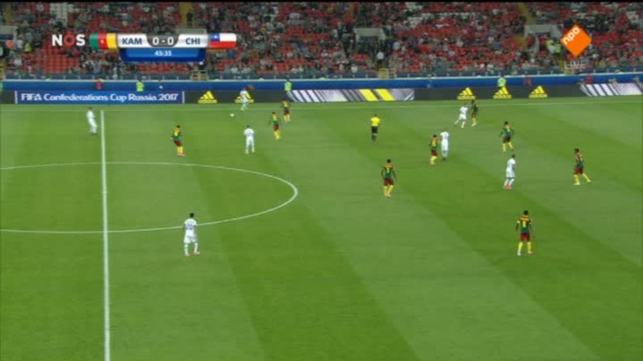 Nos Sport Confederations Cup - Nos Sport Confederations Cup Kameroen - Chili