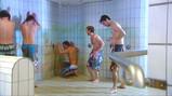 Muziek maken onder de douche