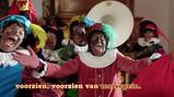 De zak van Sinterklaas: De pieten zingen een Sinterklaasliedje
