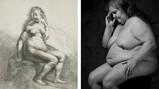 De naakten van Rembrandt en Erwin Olaf