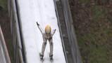 Vliegen van de skischans